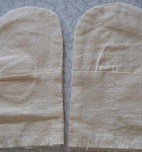 Перчатки хлопчатобумажные строительные тонкие