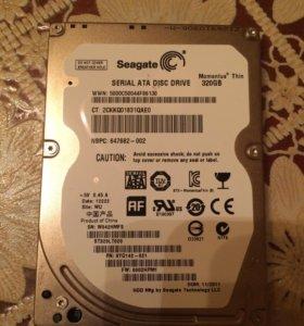 Жесткий диск 2,5 на 320гб