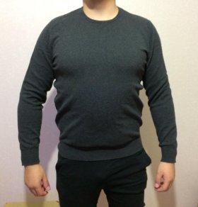 Мужские джемпера чёрный и серый цвет,размер 48-50