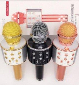 Беспроводной микрофон WS-858, новый, есть цвета