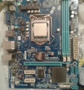 Продам комплект материнку и процессор