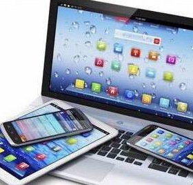 Ремонт телефонов, планшетов и ноутбуков