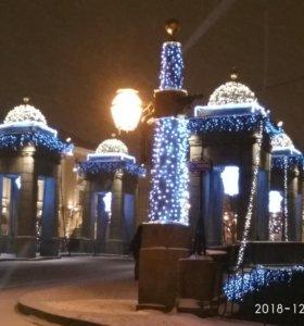 Новогодний Петербург - экскурсия на машине