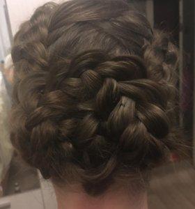 Прически,стрижки,окрашивания)парикмахер,выезд))