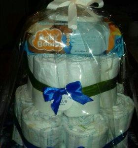 Торт из памперсов в наличии