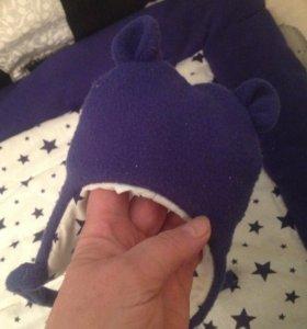 Новорожденным утепленные шапочку, конверт, одеяло