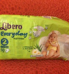 Подгузники Libero Everyday 2