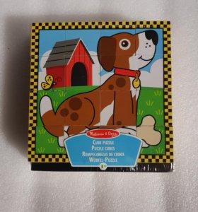 """Кубики """"Melissa&dog"""""""