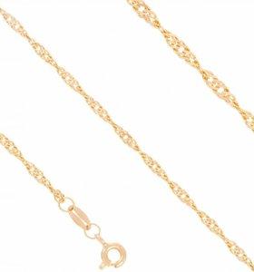Золотая цепочка 60 см