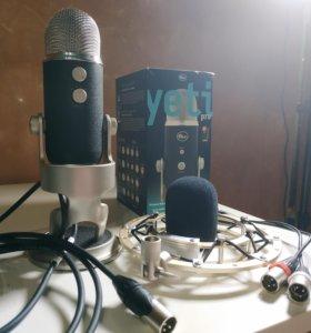 Blue Yeti Pro комплект