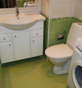 Ремонт сан. узлов и ванных комнат.