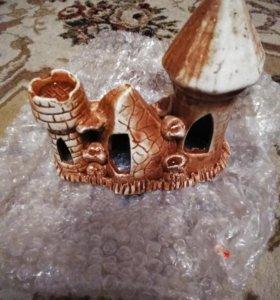 Замок,грунт,камешки