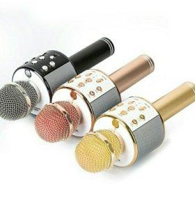 Микрофон для караоке ws858