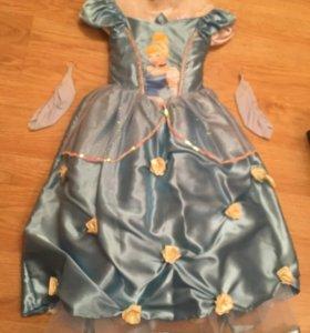 Новогодний костюм платье принцессы Золушки