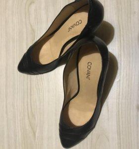 Кожаные туфли фирмы COVANI (Ковани)