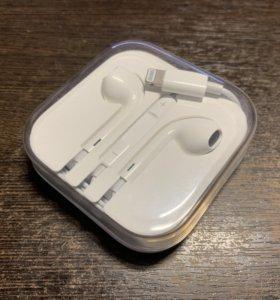 Наушники EarPods Apple с Lightning оригинал