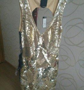 Золотое платье.НОВОЕ
