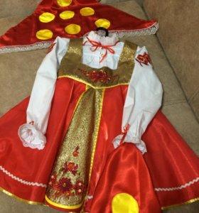 Русская красавица костюм