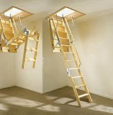 Лестница чердачная складная