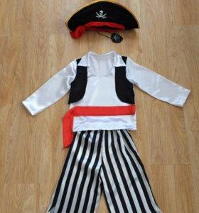 Маскарадный костюм пирата детский, ПРОКАТ
