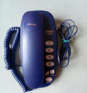 Стационарный домашний телефон texet