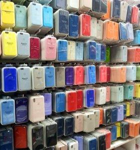 Чехлы для iPhone 7+, 8+, X,XS, XS max, XR.