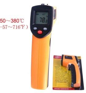 Лазерный бесконтактный термометр с ЖК-дисплеем
