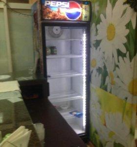 Холодильник пепси с подсветкой