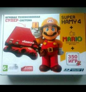 Super Hamy 4 + 350 игр
