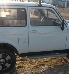 ВАЗ (Lada) 4x4, 2001