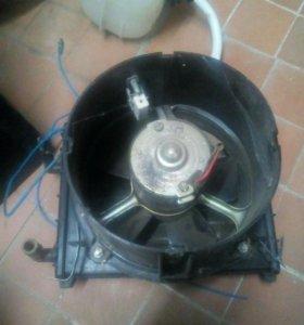 Радиатор печки с мотором