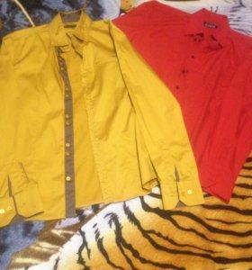 Две мужские стильные рубашки