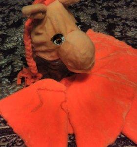 Платье (костюм Лошадки новогодний)