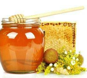 Натуральный мед разнотравие.