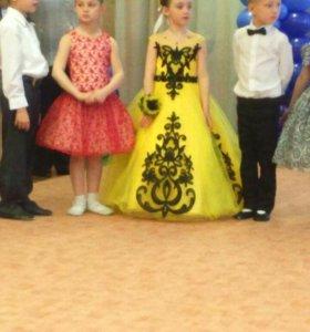 Платье для девочки на выпускной в детский сад