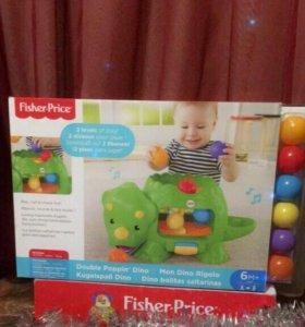 Игровой центр Динозавр для Малышей Fisher price