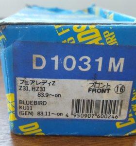 Тормозные колодки KASHIYAMA D1031M