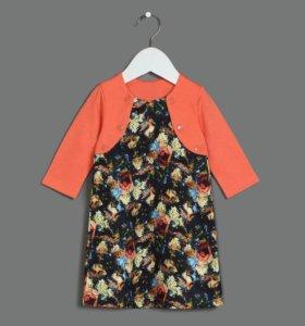 Платье новое для девочки с болеро.