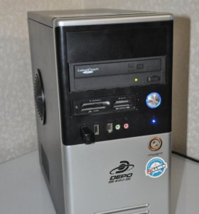 компьютер Core 2 Duo E5700 ASUS EN8400GS 512MB