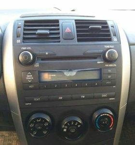 Toyota Corolla магнитола