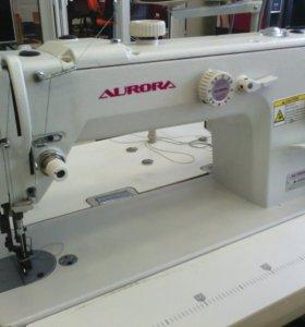Швейная машина для кожи с шагающей лапк. A-3500