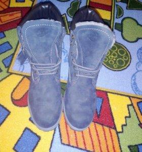 Зимние ботинки тимбы