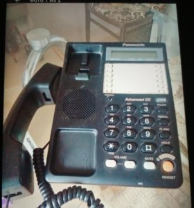 Телефон panasonic KX-TS2365RUB в хорошем состоянии