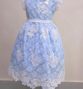 Нарядное нежное платье Baby Steen (р.134/8)