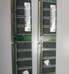 Оперативная память DDR 512Mb 400MHz