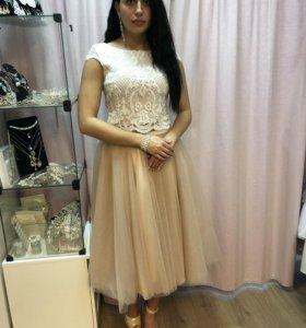 новое шикарное платье в прокат