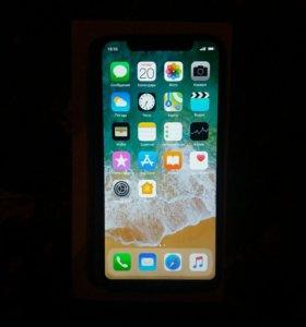 IPhone X black 64 гб