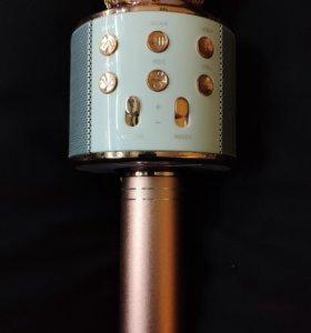 Портативный Караоке-микрофон WS-858