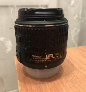 Объектив Nikon 18-55 VR (2 серии)