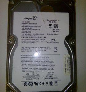 Жесткий диск Seagate 750 Гб на запчасти